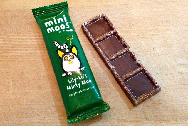 Moo Free: Lily-Lu's Minty Moos Vegan Chocolate Bar