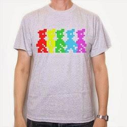Old Skool Hooligans 5 Colours Manic Miner T-shirt