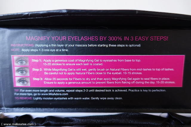 mia adora, mia adora 3d fiber lashes, mia adora 3d fiber lashes review, younique, younique fiber lashes review, fiber lashes, 3d fiber, 3d fiber lashes review, mascara, 3d fiber lash mascara
