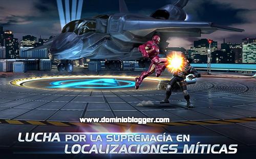 Juega Marvel Batalla de Superheroes gratis en tu telefono movil
