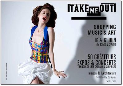 Take Me Out juin 2012, Maison de l'Architecture Paris café A, Couvent des recollets, Eric Amande, Wolf Cheap Market