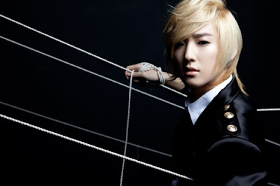 U-KISS ukiss Manmanhani Kevin hair blonde