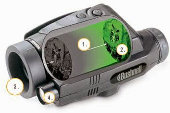 Bushnell Night Vision 2.5 x42 Monoculars