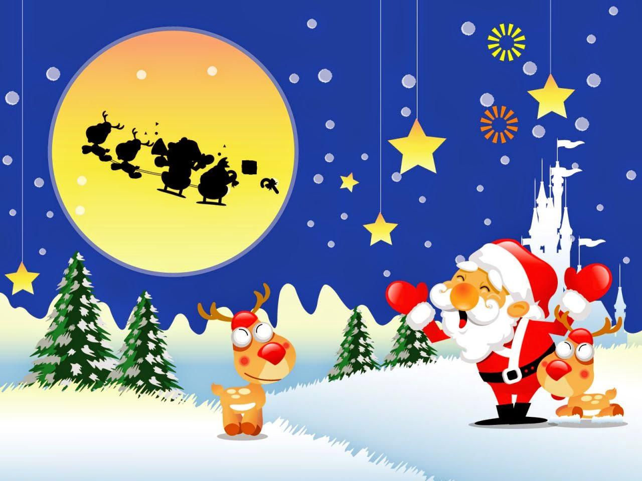 Santa-Claus-with-reindeer-cartoon-image-for-chidren-Christmas-card-1280x960.jpg
