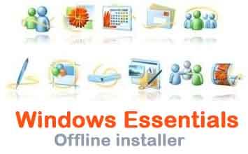 windows essentials offline installer download