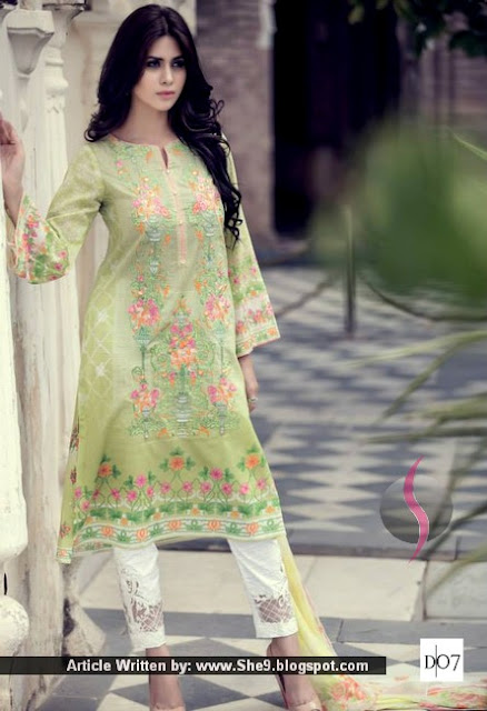 Maria B Lawn Eid Collection 2015