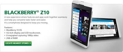 BlackBerry Z10 Dilancarkan Secara Rasmi Di Malaysia Oleh Maxis