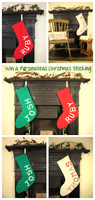 Personalised handmade Christmas Stockings