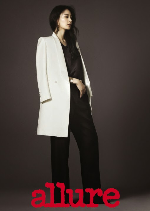 Kim Soo Hyun - Allure Magazine November Issue 2014