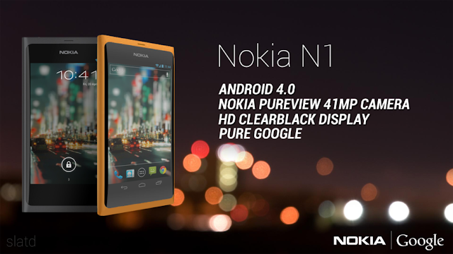 Nokia N1 Concept Phone on Android 4.0