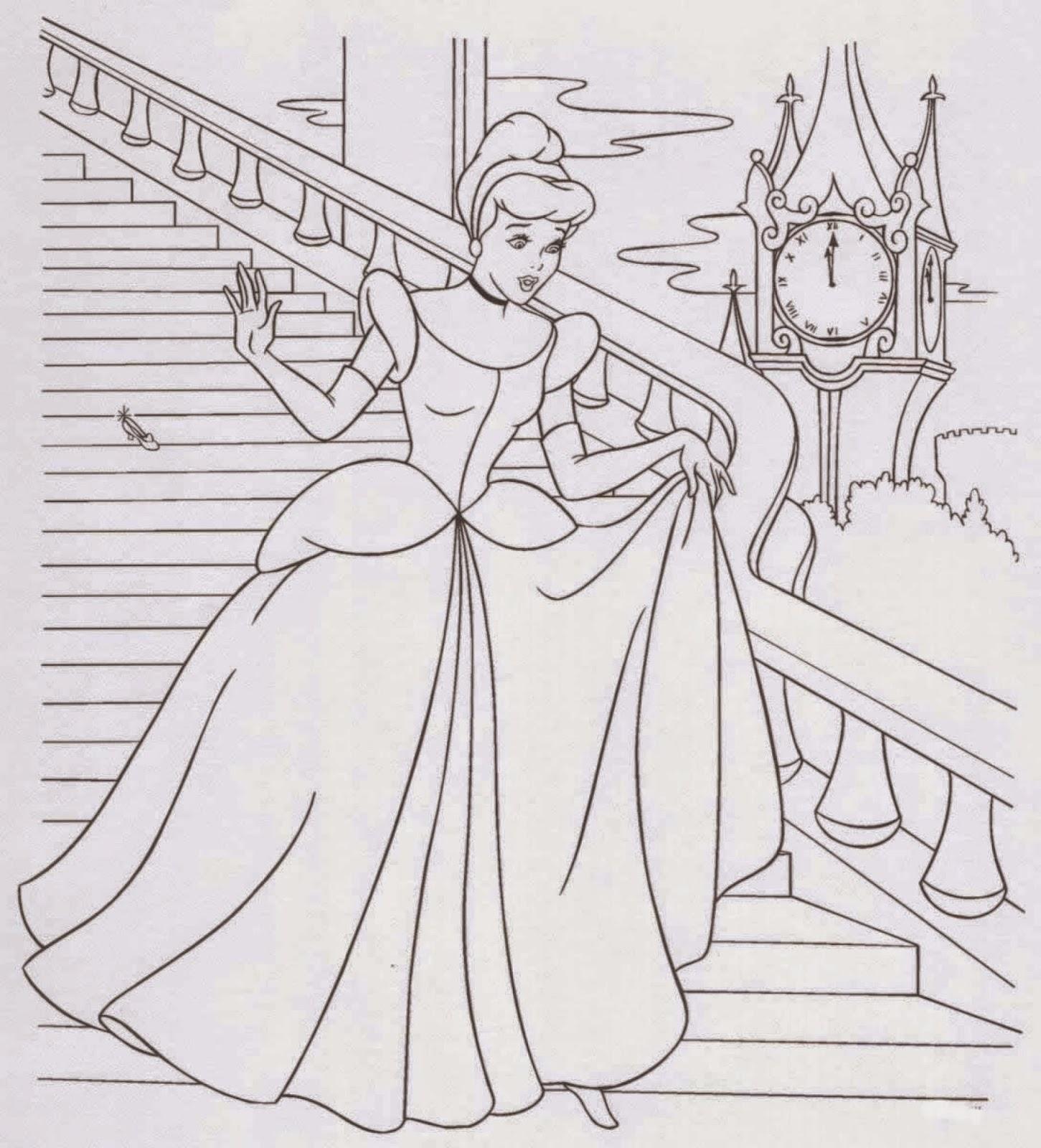 Cinderella coloring.filminspector.com