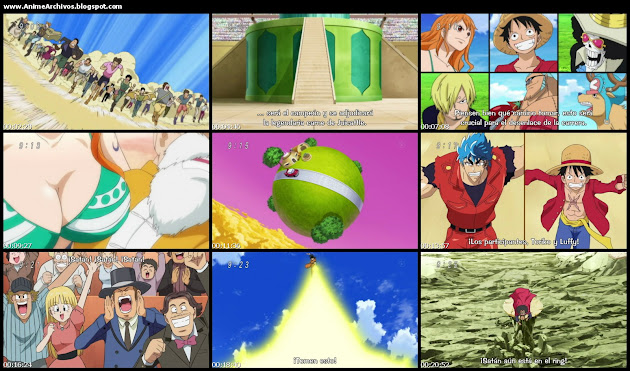 Toriko x One Piece x Dragon Ball Z 1