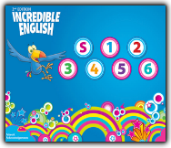 INCREDIBLE ENGLISH: STARTER LEVEL AND LEVELS 1,2,3,4,5,6