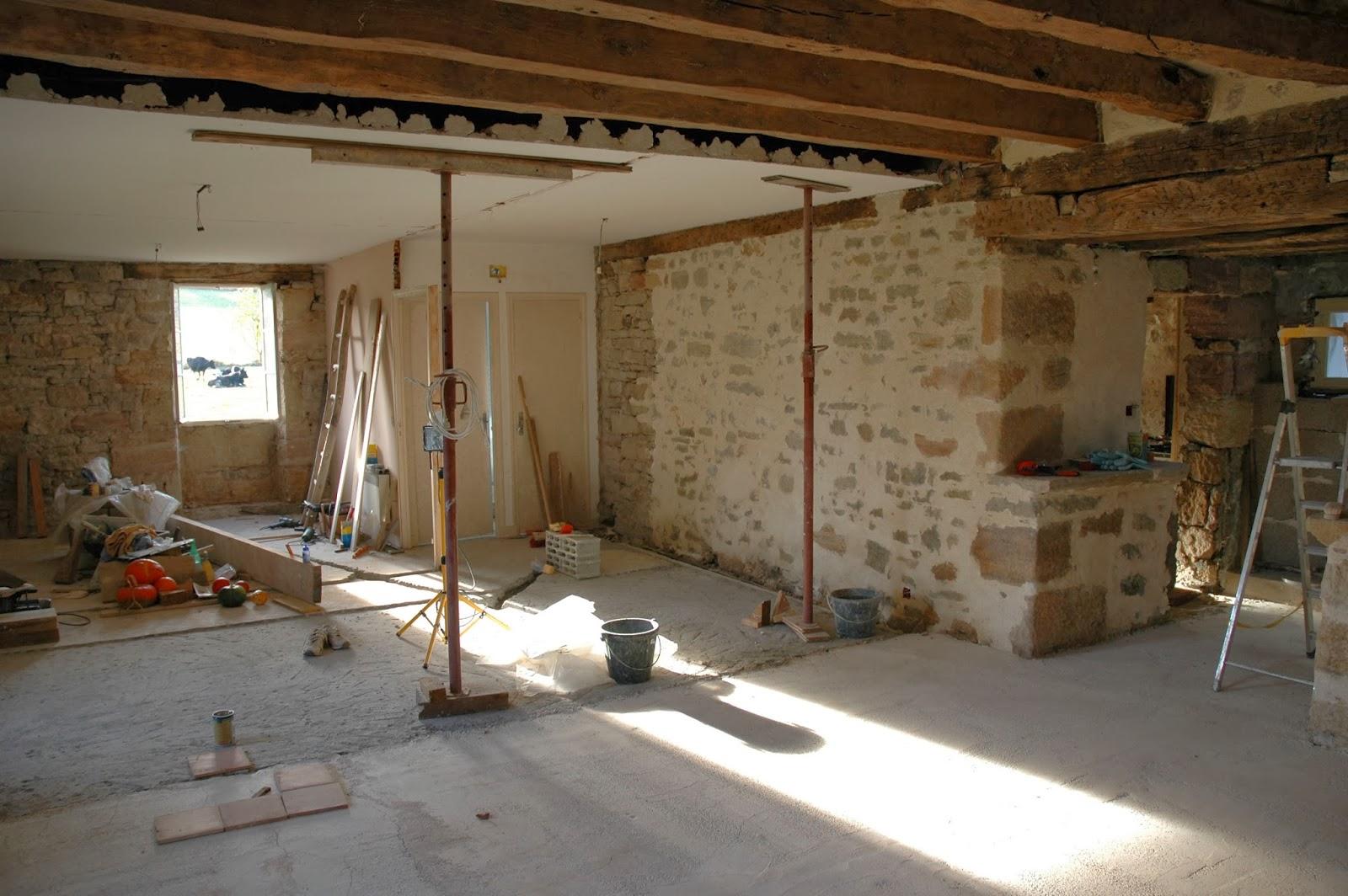 La maison d 39 apr s r tro for Cuisine en beton cellulaire