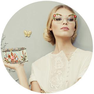 очки с вышивкой от Ульяны Сергиенко