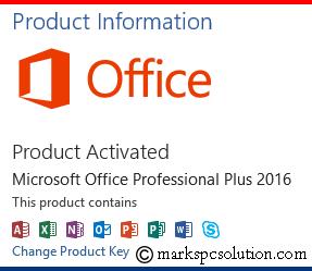 Microsoft Excel 2016 buy key