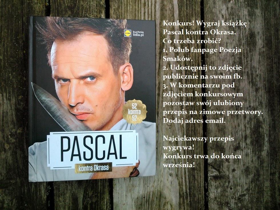 Konkurs - wygraj książkę Pascal kontra Okrasa.