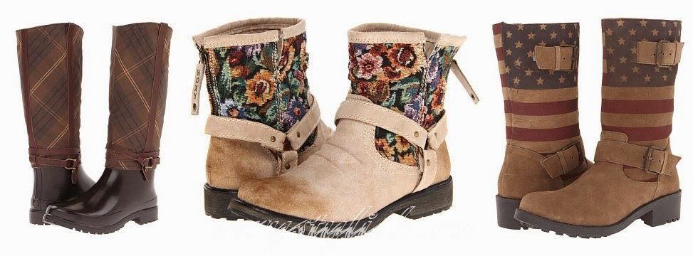 Spring 2015 Women's Boots Fashion Trends