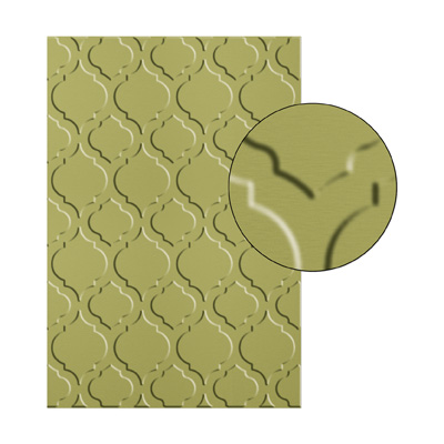 Modern Mosaic Textured Impressions Embossing Folder #129984 $7.95