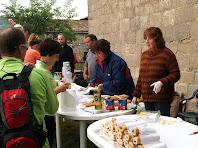 Esmorzar a Sant Esteve de Valldoriola