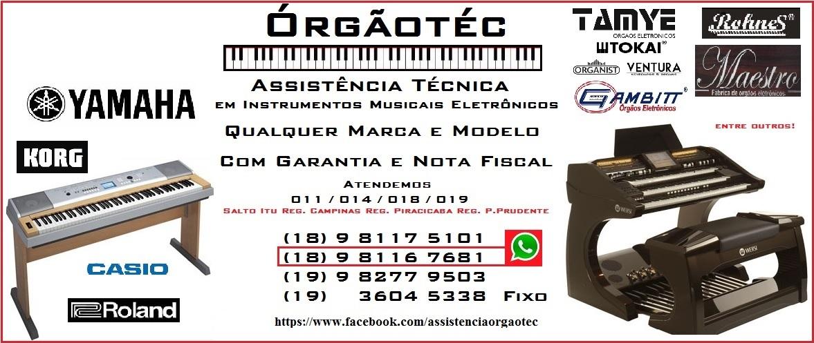 Conserto de Órgão Eletrônico