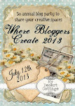Where this Blogger Creates Party 2013