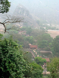 View from Hoa Lu Yen Tu Mountain