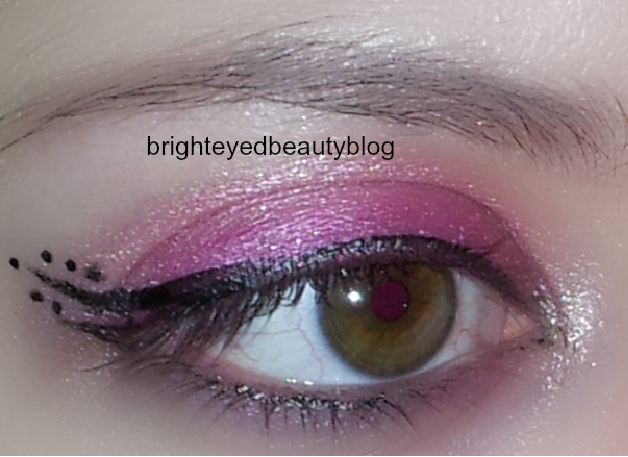 Pretty in Pink eye look 2