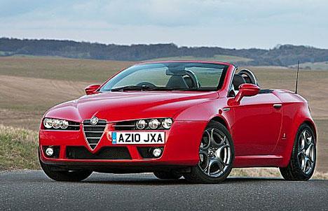 Alfa Romeo on Alfa Romeo Spider Review   Car Review And Wallpaper  Alfa Romeo Spider