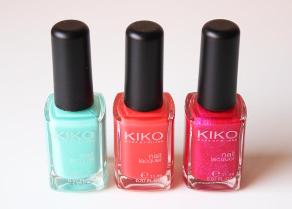 Manicura y pedicura con Kiko Milano