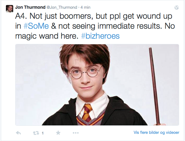 No magic wand in #SoMe