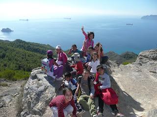 Excursión al Monte Roldán.