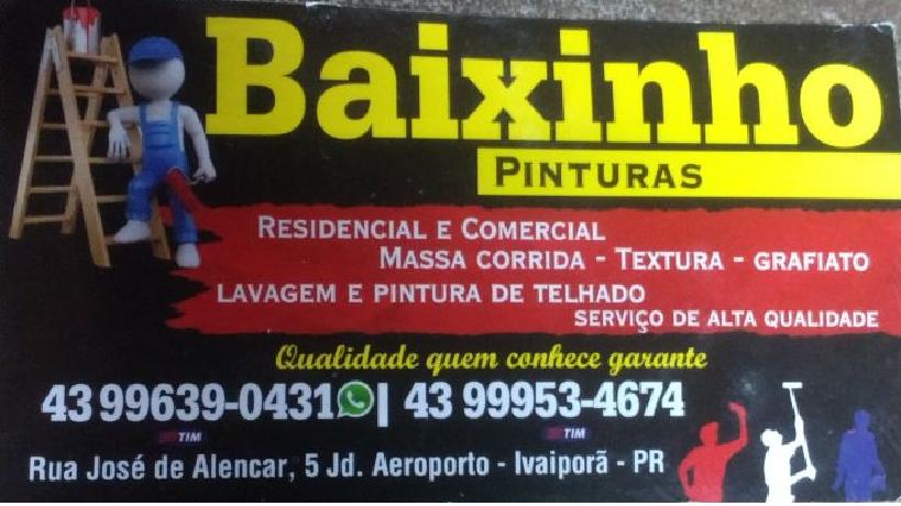 BAIXINHO PINTURAS