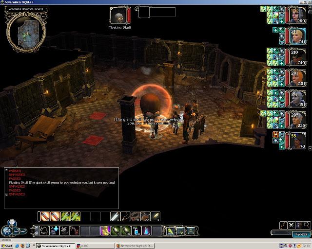 Neverwinter Nights 2: Storm of Zehir - Floating Skull Screenshot