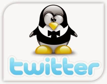 Widget Twitter berada di page Settings (Gambar 1).
