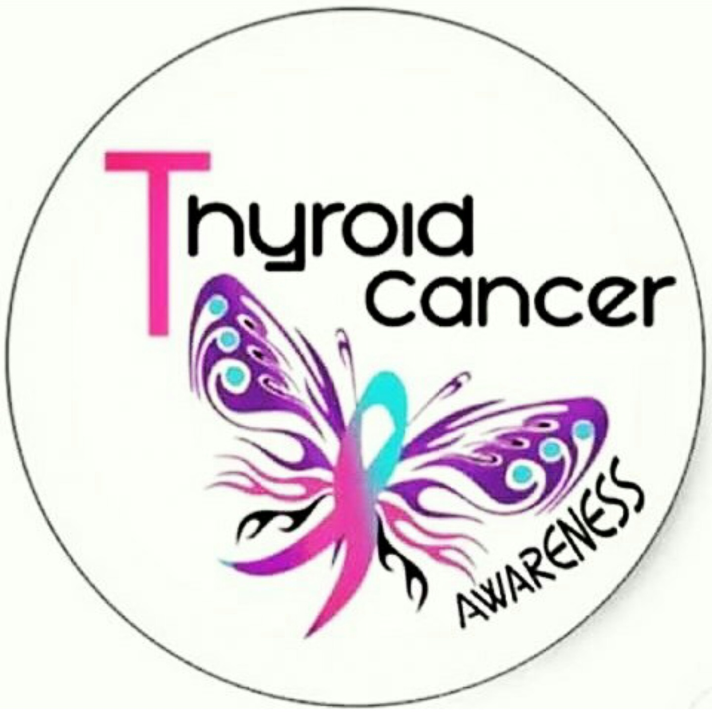 Vintagestrings Creations Thyroid Cancer Awareness Month My