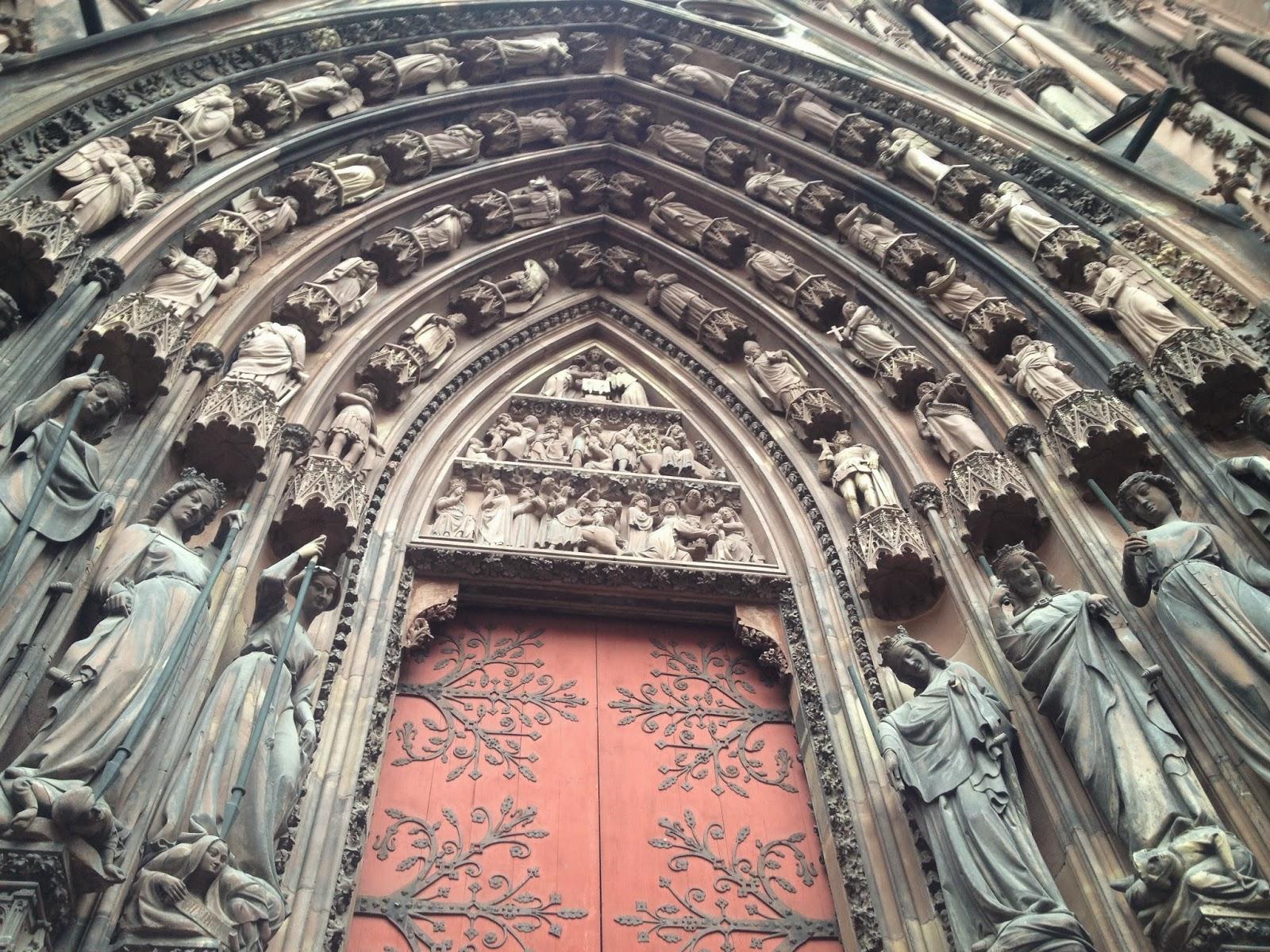 Strasbourg Cathedral entrance