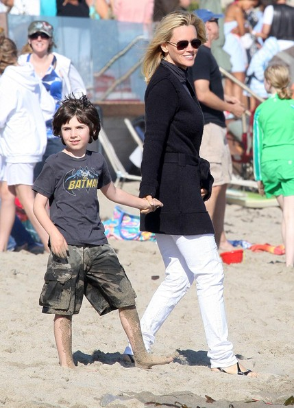 Jenny McCarthy and John Asher's beby boy Evan