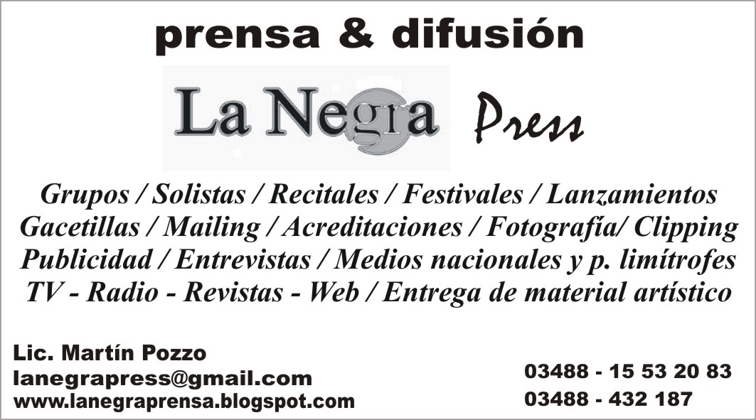 LA NEGRA PRESS