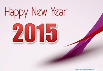 Happy New Year 2015 Stylish Text As Wallpaper