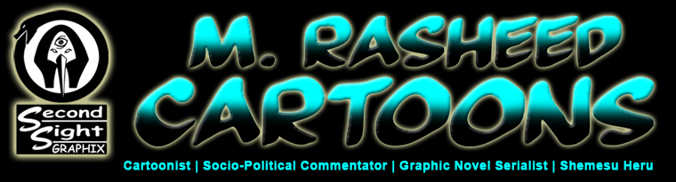 The Official Website of Cartoonist M. Rasheed