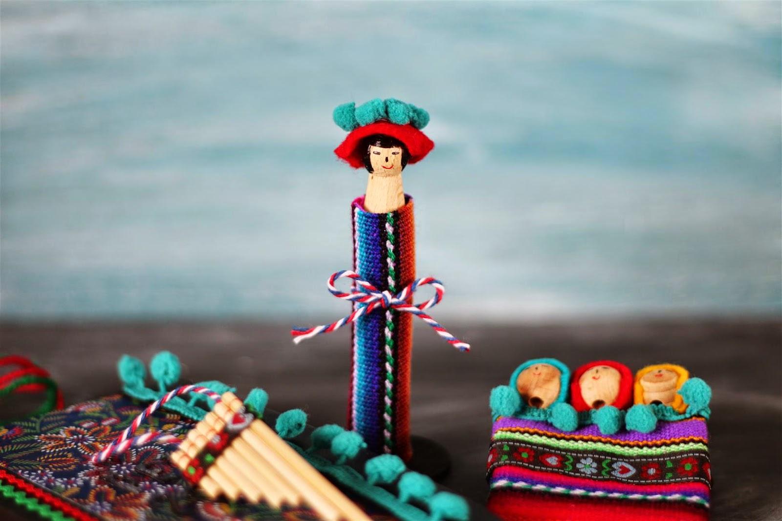 Peruvian peg doll