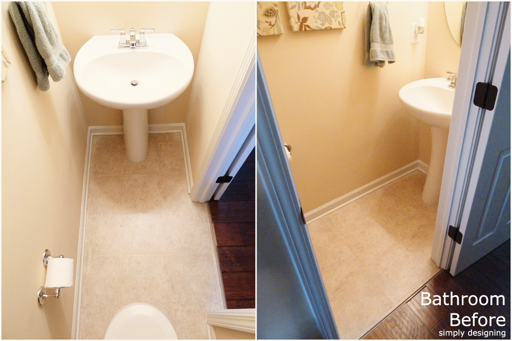 Herringbone Tile Floor How To Prep Lay And Install - How long does it take to tile a bathroom