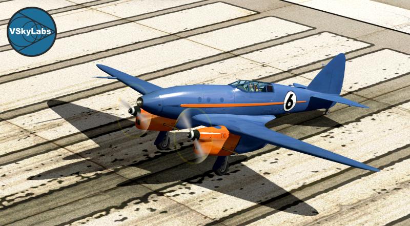 VSKYLABS 'Twin Racer 007'