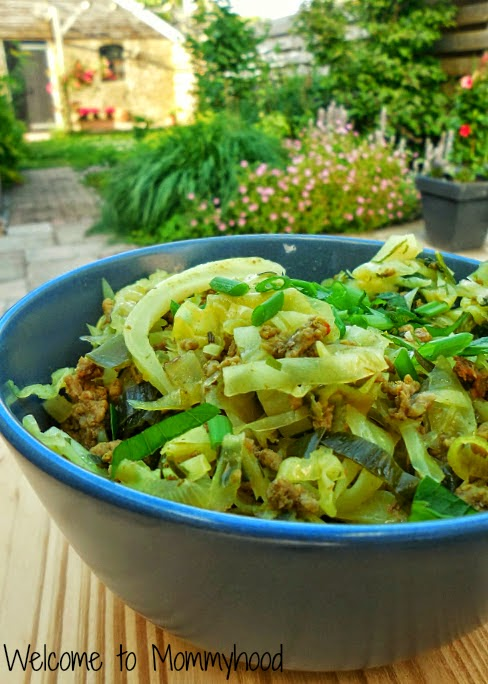 Healthy cabbage recipes: green cabbage recipe by Welcome to Mommyhood