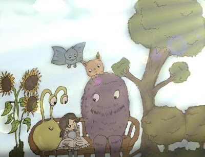 children-art-monster-cartoon