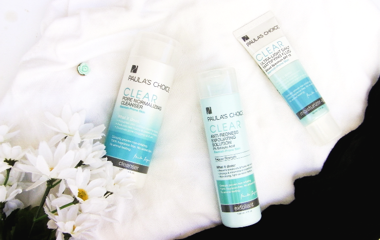 paula's choice clear blemish control review acne