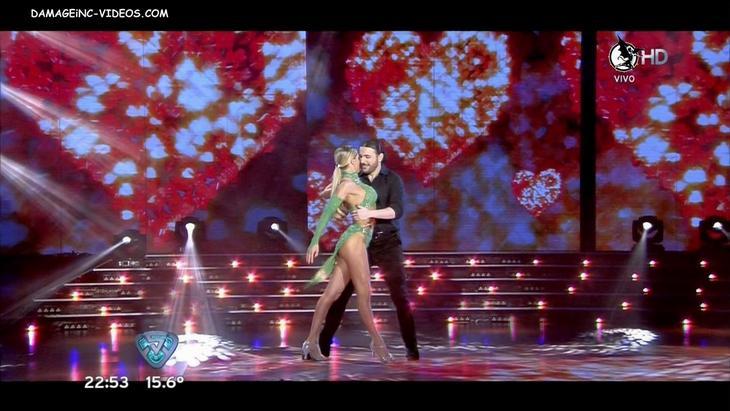 Macarena Rinaldi hot muscle legs damageinc HD video