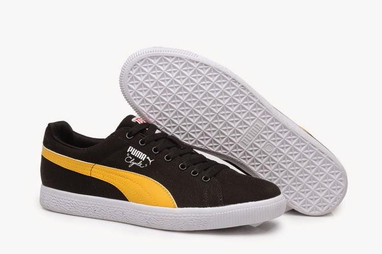New Products Puma 90 2013 Men Yellow Black Shoes  C007PUA133