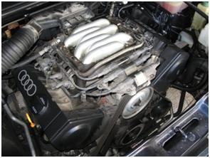 Motor 2.8 V6 de AUDI A6